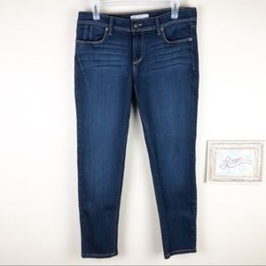 Free People Skinny Ankle Cropped Jeans 30